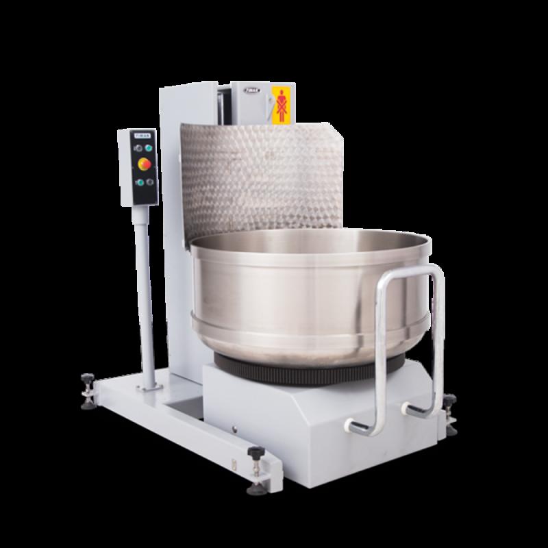 Автоматична машина для підняття і перекидання діжі