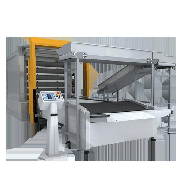 Автоматическая линия для выгрузки и загрузки хлеба (робот)