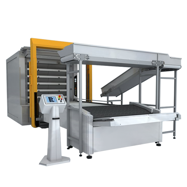 Автоматична лінія для вигрузки та завантаження хліба (робот)